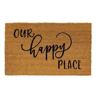 Our Happy Place Door Mat G1200029