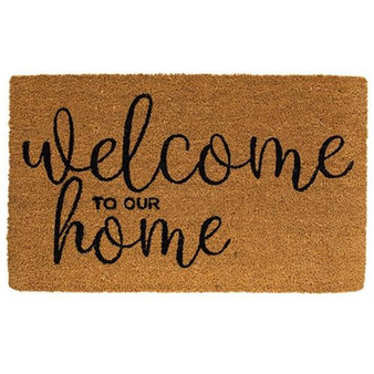Welcome To Our Home Door Mat G1200030