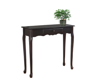 "Accent Table - 36""L - Dark Cherry Hall Console (I 3109)"