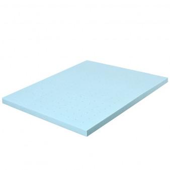 "4"" Gel Injection Memory Foam Mattress Top Ventilated Mattress Double Bed-Full Size ""HU10052-F"""