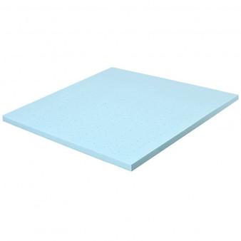 """4"""" Gel Injection Memory Foam Mattress Top Ventilated Mattress Double Bed-Queen Size """"HU10052-Q"""""""