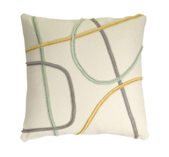 """Pillow (Set Of 2) 17"""" Polyester 74691DS"""