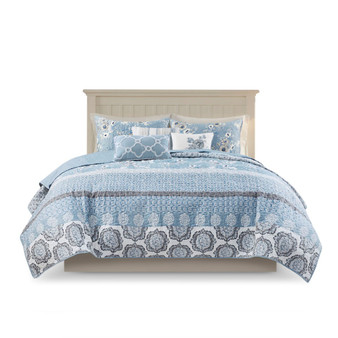 Willa 6 Piece Reversible Coverlet Set - King/Cal King MP13-7346