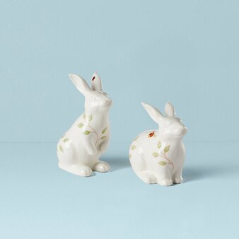 Butterfly Meadow Dinnerware Bunny Salt & Paper Set (893456)