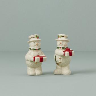 Happy Holly Days Snowman Salt & Pepper (890454)