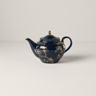 Sprig & Vine Dinnerware Teapot Navy (890739)