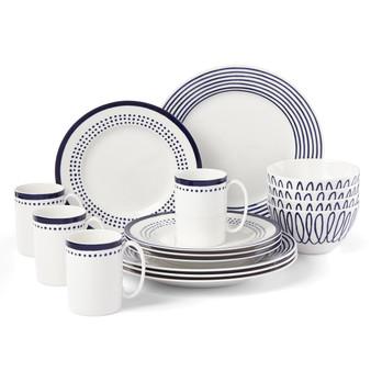 Charlotte Street West 16-Piece Dinnerware Set (890212)