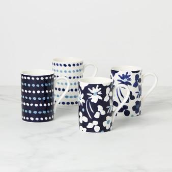 Floral Way 4-Piece Mug Set (893517)