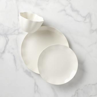 Kate Spade Petal Lane White Dinnerware 3-Piece Place Setting (892009)
