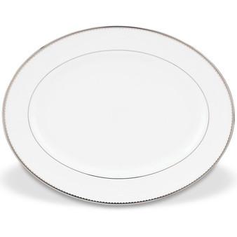 "Sugar Pointe 13"" Oval Serving Platter (847391)"