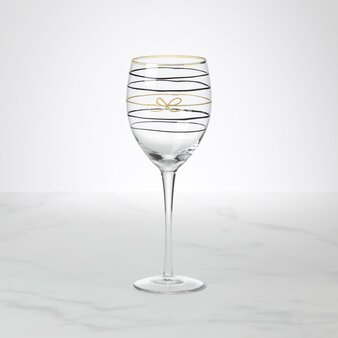 Kate Spade Doodle Away Wine Glass (893838)