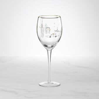 Kate Spade Manhattan, Please Wine Glass (893840)