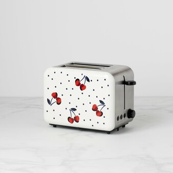 Kate Spade New York Vintage Cherry Dot Toaster 2 Slice (892464)
