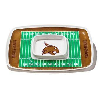 Texas State Bobcats Chip & Dip Tray 32095