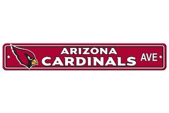 Arizona Cardinals Plastic Street Sign 92322B