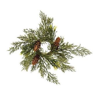 Alpine Cedar Candle Ring FXP78418
