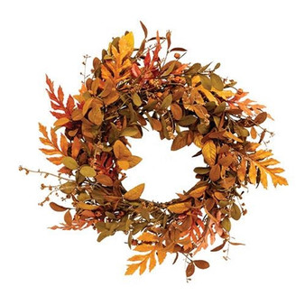 Sizzling Shed Leaves Wreath FYL77770