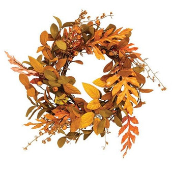 Sizzling Shed Leaves Candle Ring FYL77776