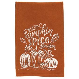 Happy Pumpkin Spice Season Dish Towel G109982