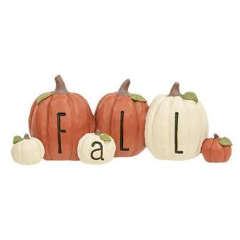 """""""Fall"""" Resin Pumpkins G13168"""