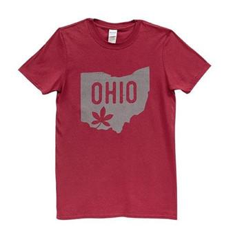 Buckeye Leaf Ohio T-Shirt Xxl GL88XXL