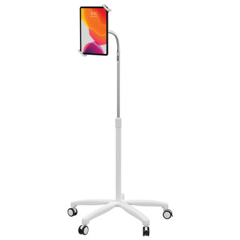 Medical Mobile Tablet Floor Stand - White (CTAPADSHFSW)