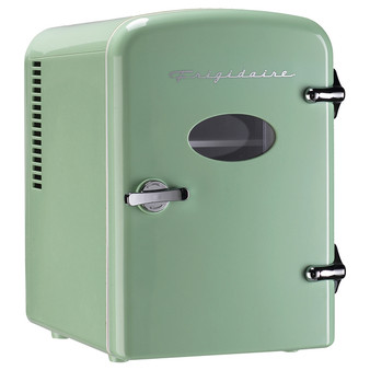 .5Cuft 6-Can Mini Portable Fridge Mint (CUREFMIS129MNT)