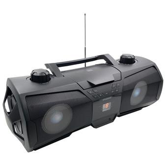 Bluetooth Portable Cd Boombox - Black (CURSRCD1075BT)
