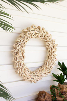Woven Rope Wreath (CLAN1113)