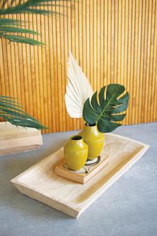 Rectangle Wooden Bread Tray (CMH1041)