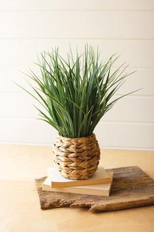 Artificial Plant In A Woven Planter #5 (CNL1345)
