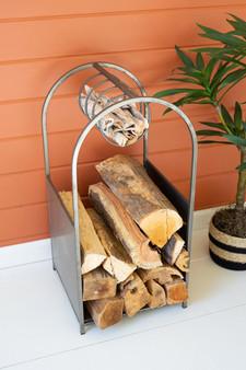 Metal Firewood Stand (CQ7596)