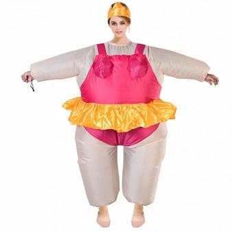 Christmas Waterproof Inflatable Ballerina Suit (CM19553)