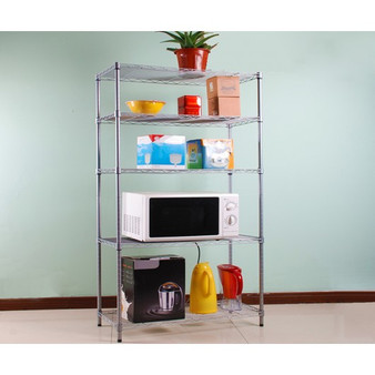 """34"""" X 17"""" Heavy Duty Organizer Shelf Storage Rack Holder (HW42016)"""