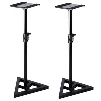 Height Adjustable Pair Heavy Duty Studio Monitor Speaker Stand (MU10012)