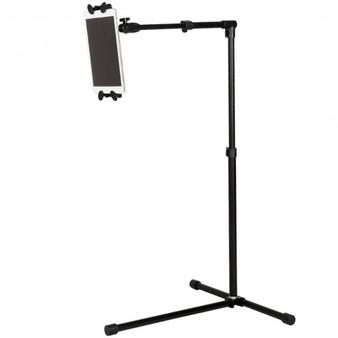 Universal Adjustable Rotating Ipad/Tablet Pc Holder Floor Mount Stand -Black (HW47514BK)