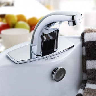 Electronic Faucet Automatic Sensor Touchless Automatic Basin Full Copper Tap (BA6988)