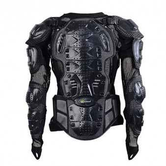 Motorcycle Motocross Clothing Racing Men'S Armor Spine Chest Protective Jacket-M (SP34864M)