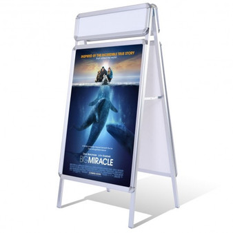 Portable A-Frame Display Board Snap Poster Stand (HW51537)