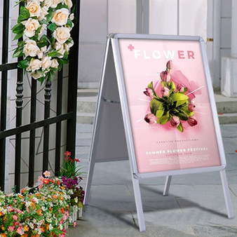 Portable A-Frame Display Board Poster Stand Holder (HW51538)