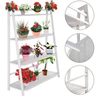 Heavy Duty Mesh Plant Flower Stand Shelves (HW51795)