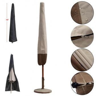 6Ft-9Ft Waterproof Outdoor Patio Market Umbrella Cover Weather Protection (OP2885)