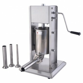 3L Vertical Sausage Stuffer Filler Meat Maker Machine Stainless Steel Dual Speed (KC40430)