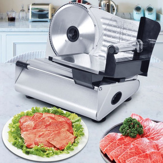 """7.5"""" Blade Electric Meat Slicer Cheese Deli Meat Food Cutter (EP21999)"""