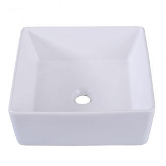 Square Bathroom Ceramic Vessel Sink (BA7160)