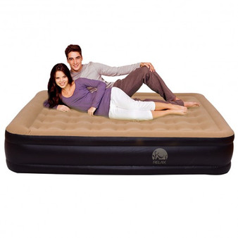 Queen Size Inflatable Mattress With Built In Electric Pump (HW54763)