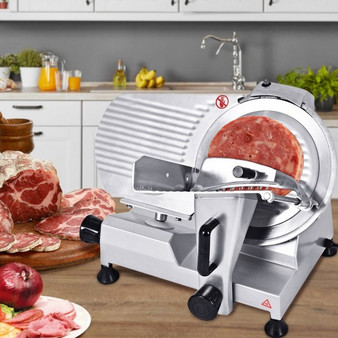 """12"""" High-Efficiency Semi-Auto Commercial Meat Slicer (EP22681)"""