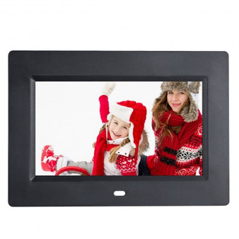 "7""/8""/10""/12"" Ips Lcd Digital Photo Frame W/ Remote-7"" (HW56529US)"