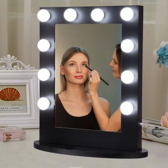 Hollywood Makeup Vanity Mirror Lighted Tabletops Mirror (HB85209)