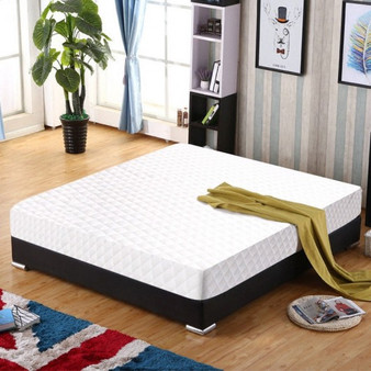 """10"""" Topper Bed Memory Foam Mattress With 2 Free Pillows-Twin Size (HT0917T)"""